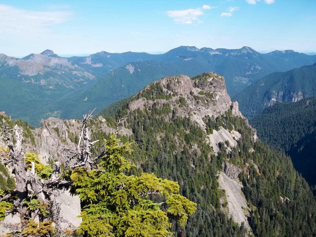 From the east summit of Howard Peak