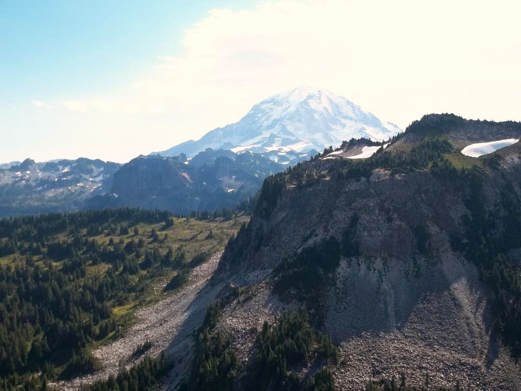 Rainier from Howard Peak