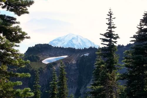 Rainier from the true summit of Howard