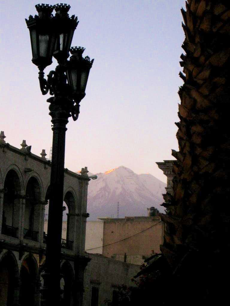 Twilight in Arequipa