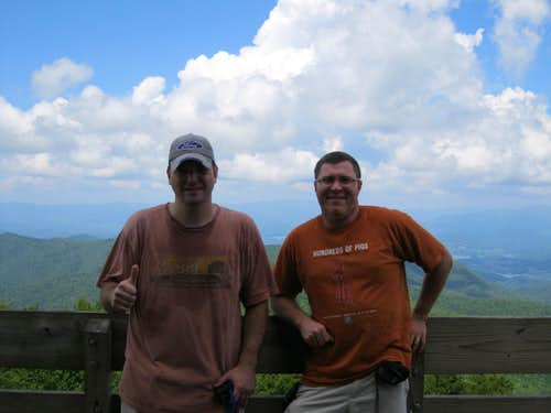 Brasstown Bald - Observation Deck