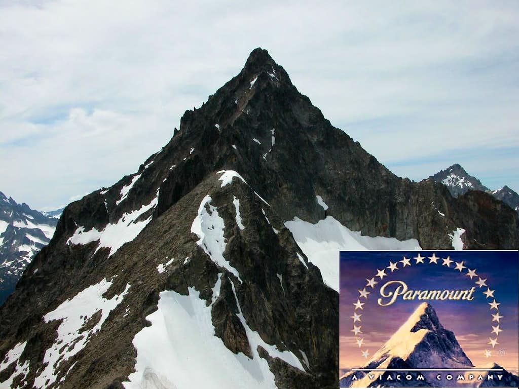 Hey, it's Paramount Studio's mountain!
