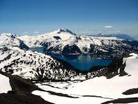Garibaldi Lake and Garibaldi Mountain