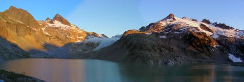 South Cascade Lake & Glacier