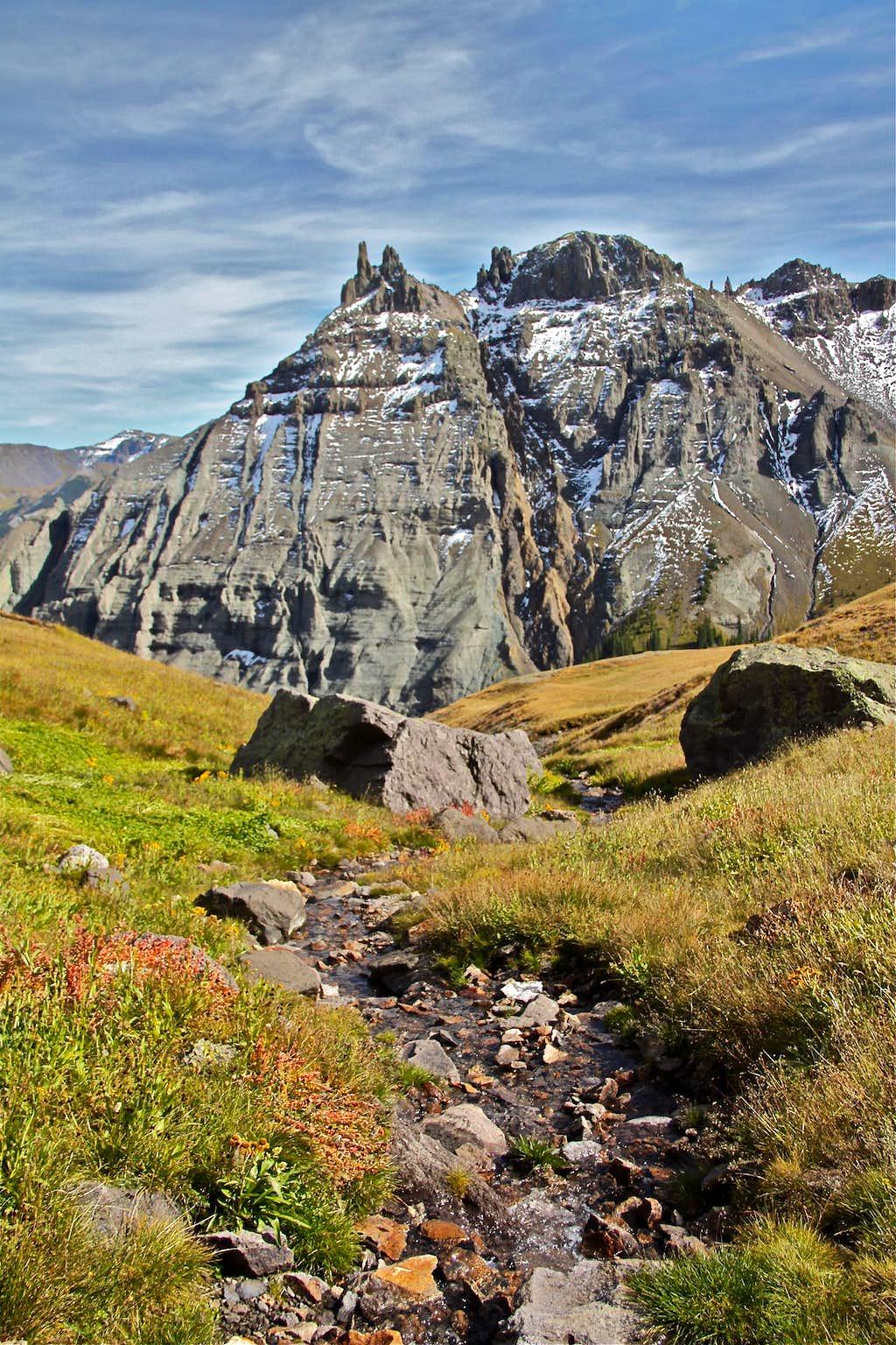 Eastern flanks of Potosi Peak