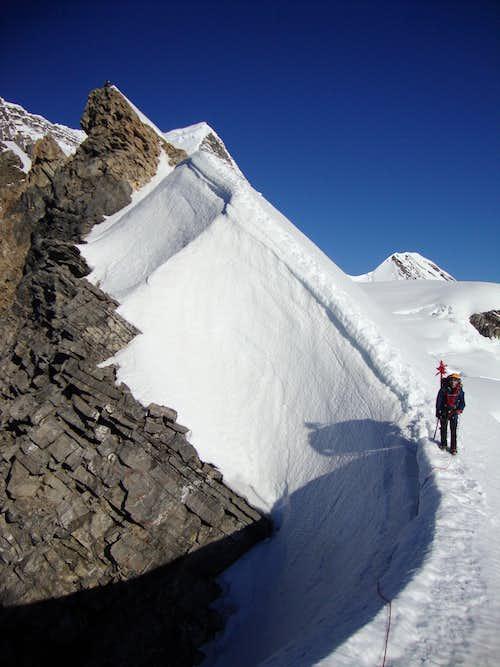 One more picture of Robson-Resplendid ridge on return