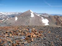 Mt Dana from Mt Gibbs summit