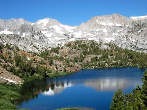 Bull Lake and the Sierra Crest