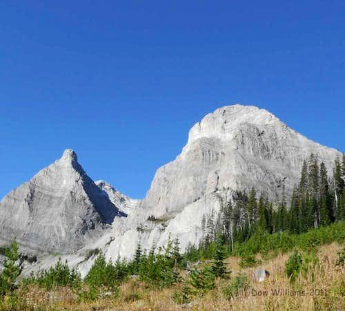 Window Mountain and Mount Ward