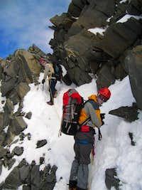 Under Du Guter hut,Mont Blanc