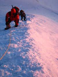 On Mont Blanc