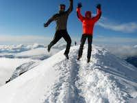 On ridge above Du Guter hut