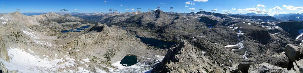 Northeastern Panorama from Mount Senger
