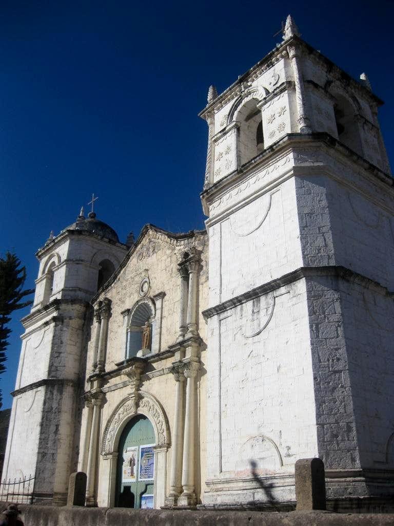 The church of Cabanaconde
