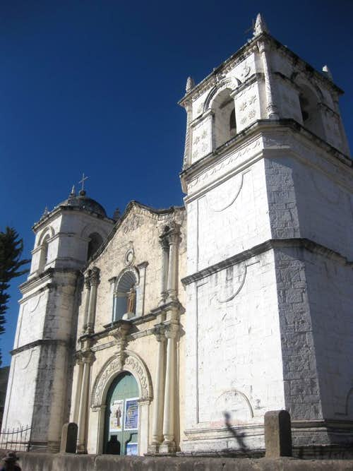 The church of Cabanaconde