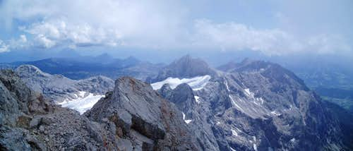 Another nice panorama of the Dachstein massive