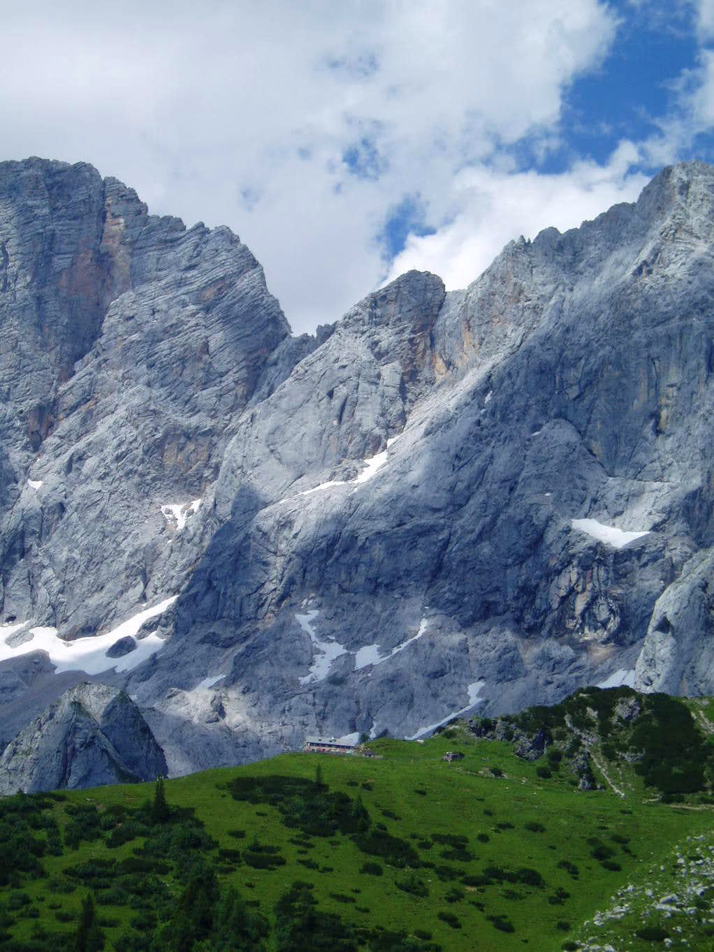 A final look back at the Dachstein Südwand