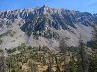 Flattop Mountain seen during...