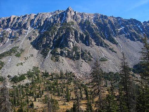 Flattop Mountain seen during...