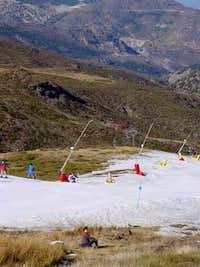 Sierra Nevada Ski Resort with...
