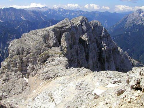 Planja from the summit of...