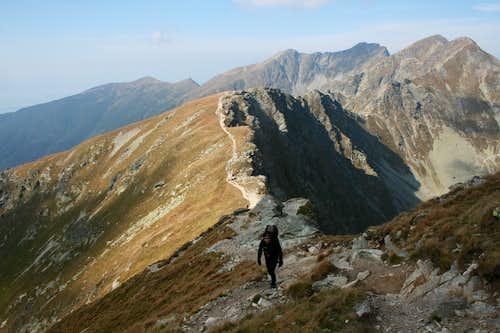 Me hiking to Plačlivý