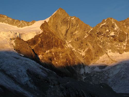 The Trifthorn (3728m) in evening gold