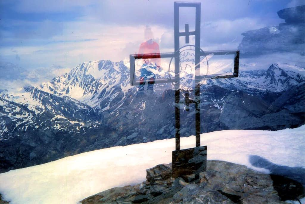 The SPECTRE between Mount Velan and the Cross of Mount Fallère