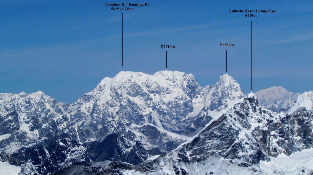 Pangbuk Ri (6625m)
