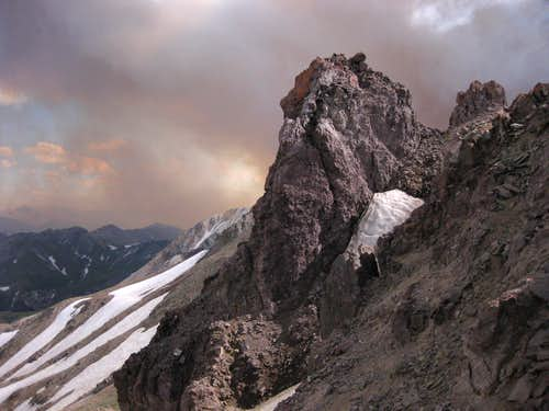 Summit Block of Peak 12,300