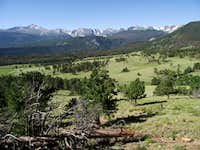 Rocky Mountain National Park Peaks