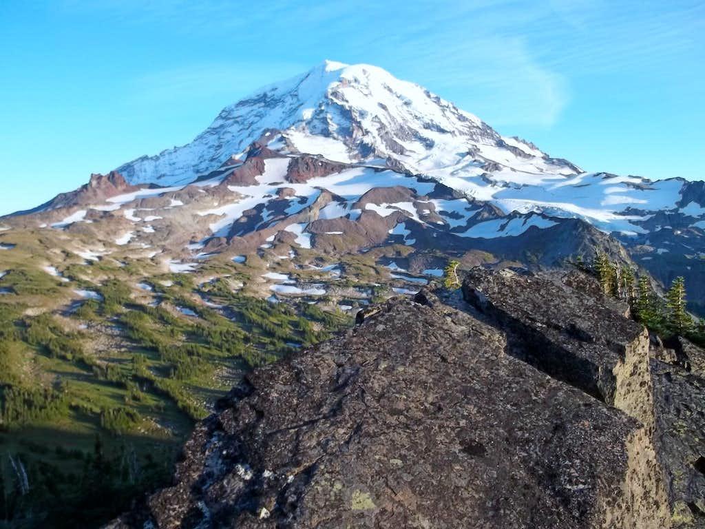 Mount Rainier from Mount Pleasant