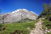 Shasta from Gray Butte trail near the top.