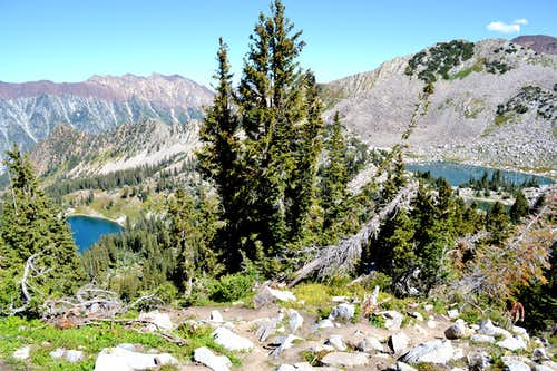Red Pine Lake y Upper Red Pine Lake