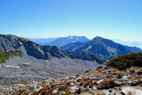 timp y box elder peaks in distance