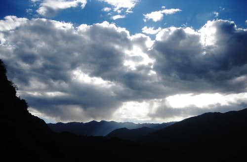 More clouds gathering over Colca Canyon