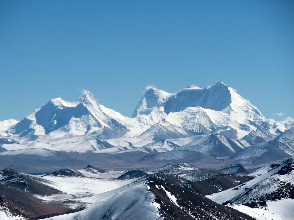 Karjiang (7221m) and Kula Kangri (7538m)