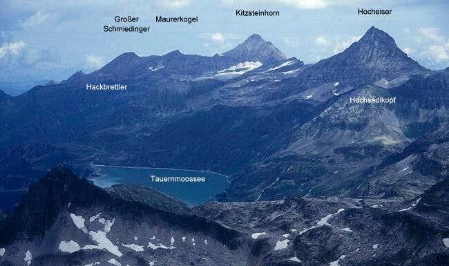 Stubach-Kaprun ridge seen...