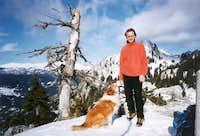 On the summit Amaranthos...