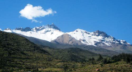 Nevado Hualca Hualca (6025m) from near Cabanaconde