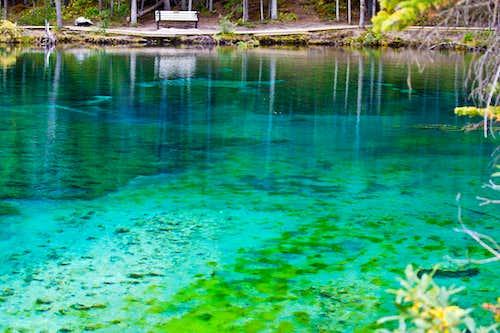 Grassi Lakes view