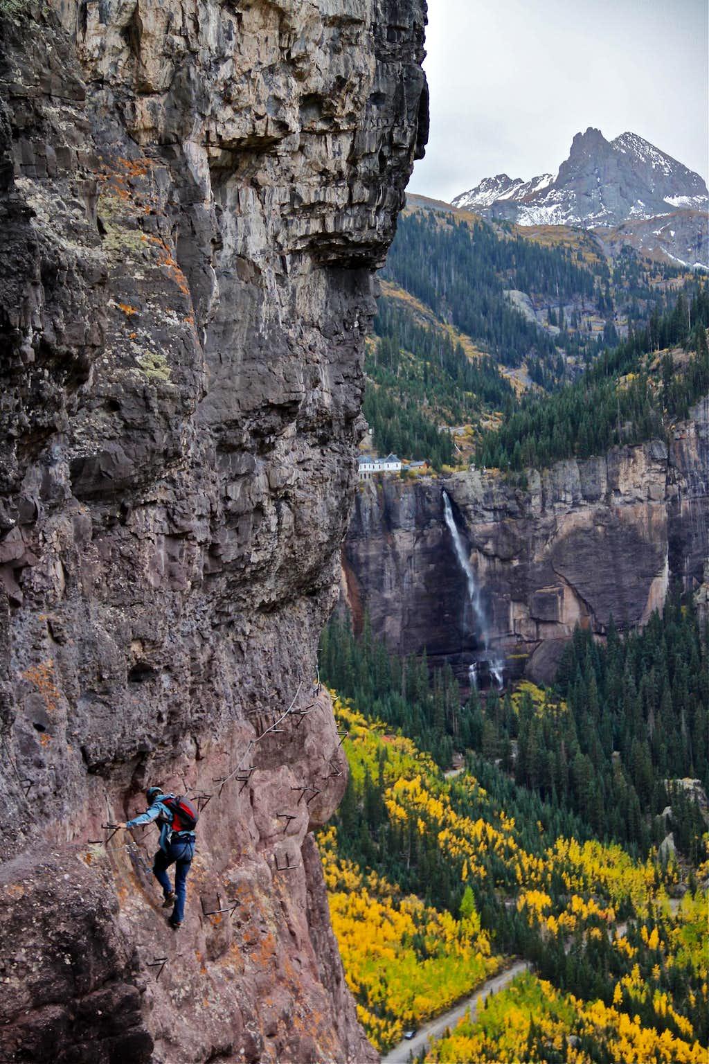 The scenery of Telluride iron way