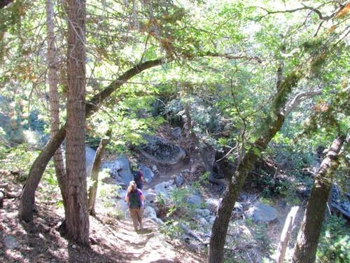 Hiking the Exploration Trail