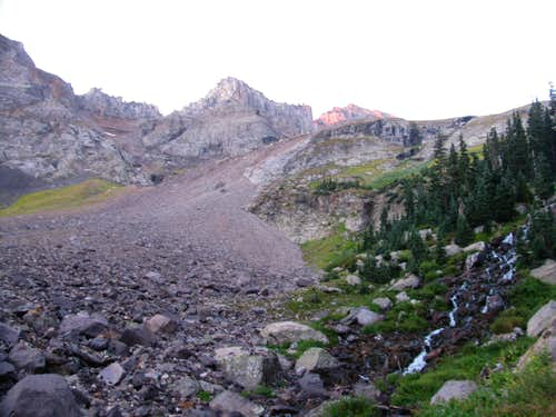 Upper Basin West of Blue Lakes