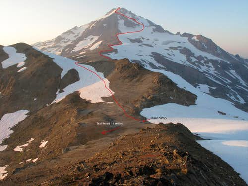 Glacier Peak - White Chuck / Cool Glacier route