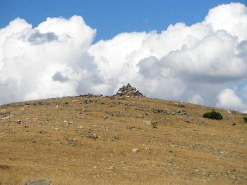 """Burning Bear Peak"" Summit Cairn"