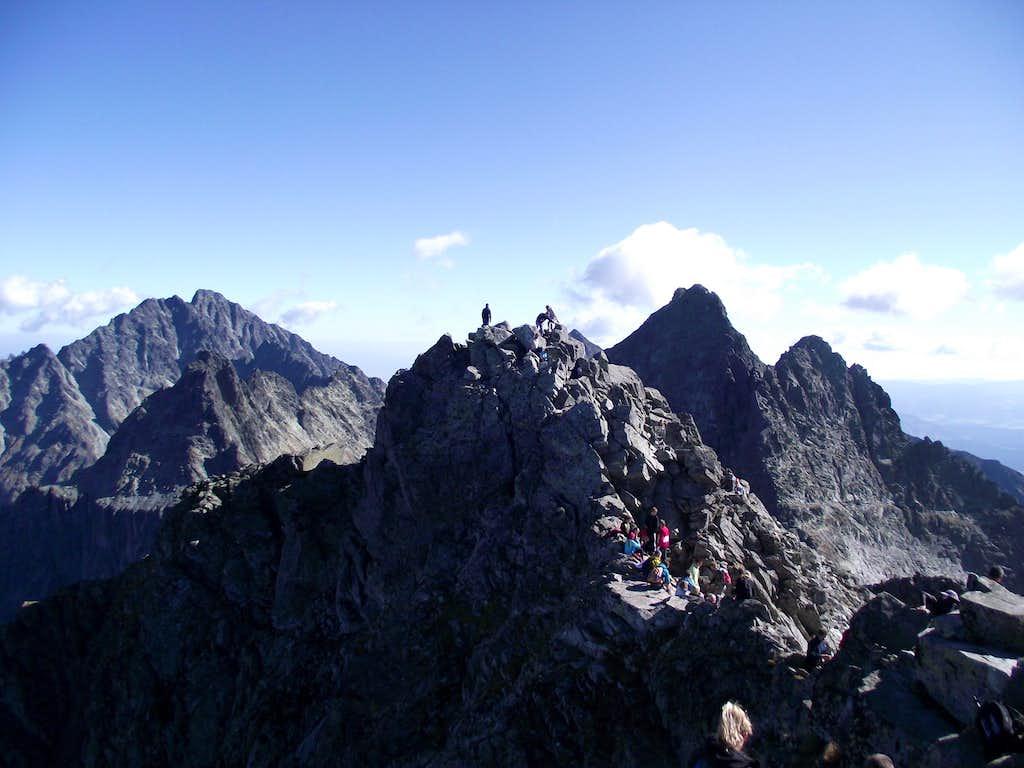Gierlach (2655m) - Rysy (2503m) - Vysoka (2547m)