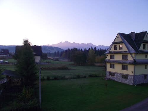 Tatry from Jurgów
