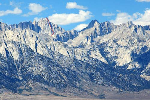 Yet Another Mount Whitney Trip Report.  East Buttress