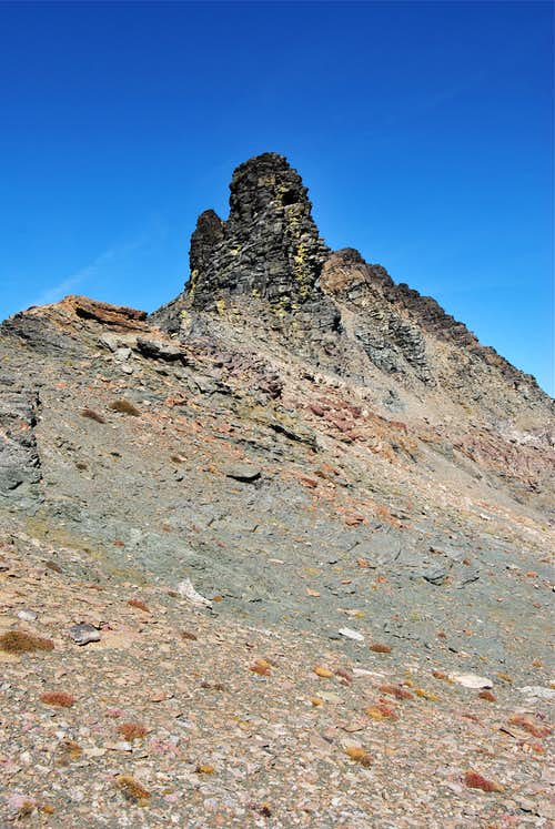 Summit Mountain spire